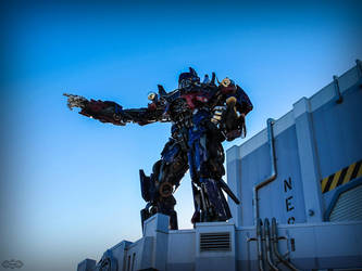Optimus Prime by Deirdre-T
