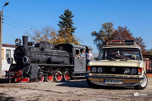 Fiat on Rail Station by GregKmk