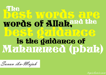 Best Words of Islam by topmuslim