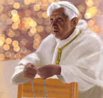 Pope Benedict XVI by ShinjuMarkez
