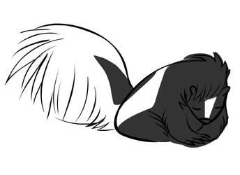Murphy the Skunk by Marji4x