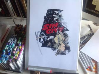 Sin city commission by krakenart