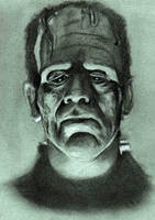 Frankenstein (1931) by Pidimoro