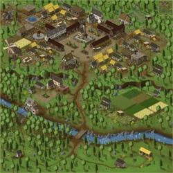 Medieval Village by blind-ice