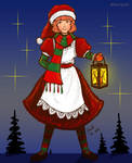 Winter's Envoy Genny by favri
