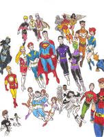 Legion of Superheroes by Mbecks14