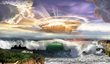 Cieux Tsunami by Jolivert