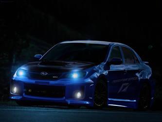 Need for Speed Subaru Impreza by LamboGTR
