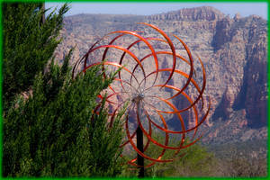 Wind Sculpture with mesmerizing capabilities by ByLagarto