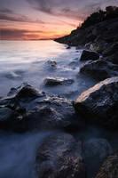Sunset at Alges by PhilipMatthews