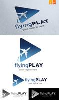 Flying Play Logo by Logosmania