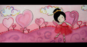 Red passion ballerina by elvyDramileth