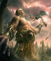 Giant wrath by 1oshuart