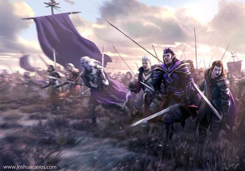 The last battle of our age by 1oshuart