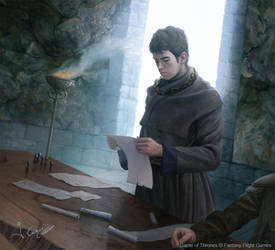 Maester Pylos GoT by 1oshuart
