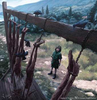Arya Stark Game of Thrones TCG by 1oshuart