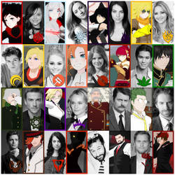 RWBY: LIVE! Action CAST by hjpenndragon