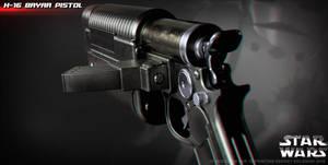 K-16 Bryar pistol by ksn-art