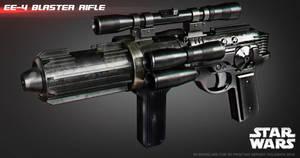 EE-4 blaster rifle by ksn-art