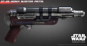 Orson Krennics DT-29 Heavy Blaster by ksn-art