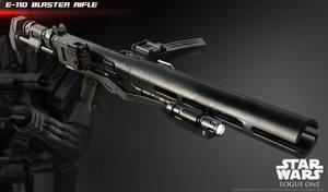 The E-11D blaster rifle by ksn-art