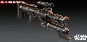 CJ-9 Bo Rifle 3D print model by ksn-art