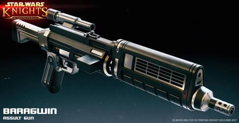 Baragwin assault gun by ksn-art