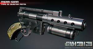 merr-sonn type cc blaster pistol by ksn-art