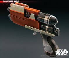 Blurrg-1120 holdout blaster 3D print model by ksn-art