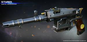 Exotic Handcannon Sturm by ksn-art