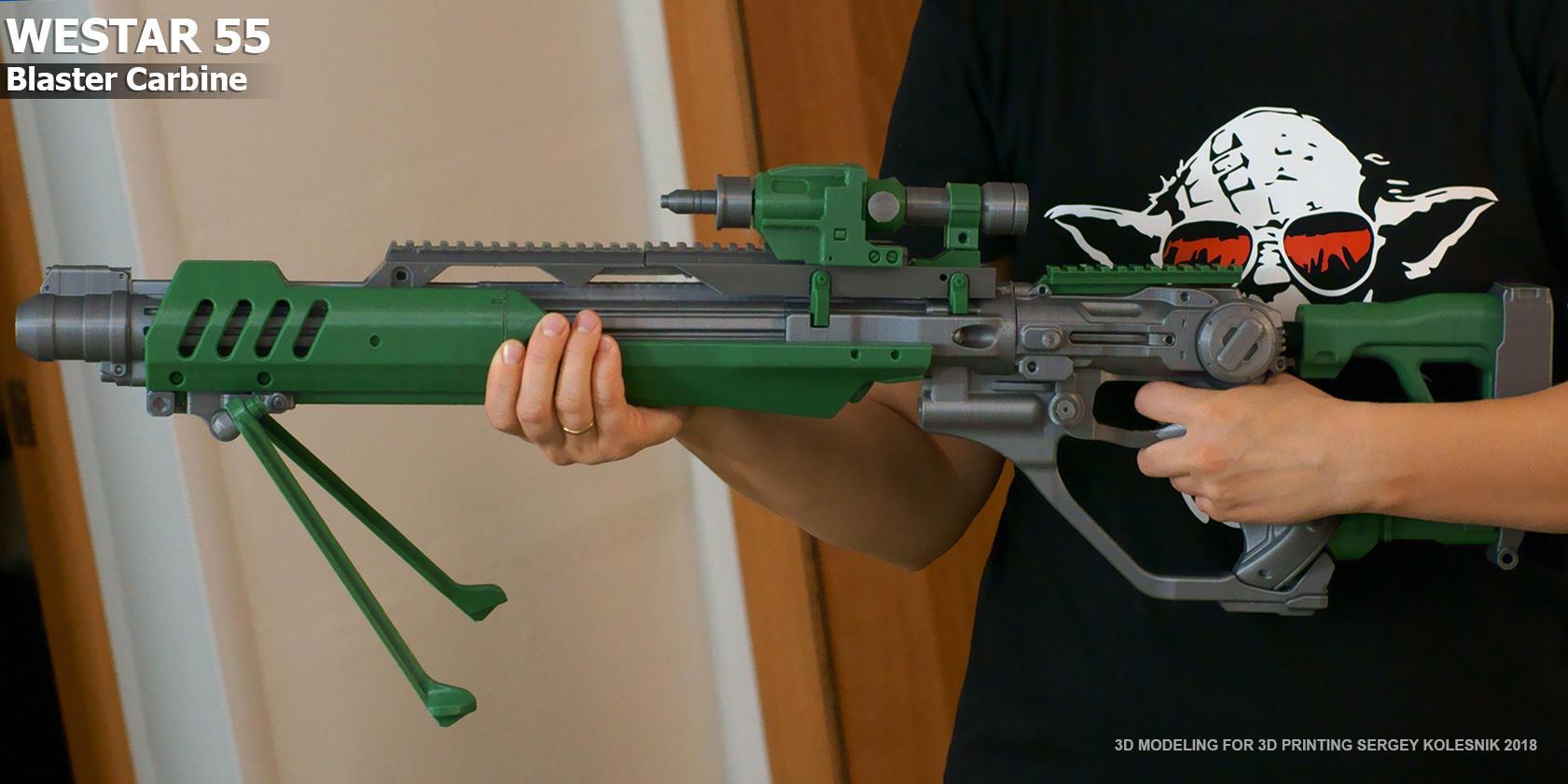 Westar-55 carabiner by ksn-art