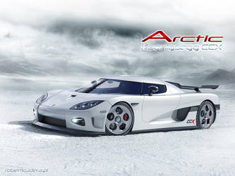 Koenigsegg CCX 'Arctic' by Robertus