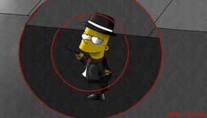 Bart mafioso by guilleapi