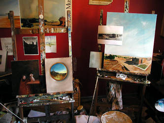 My studio 2004 by liquidclouds