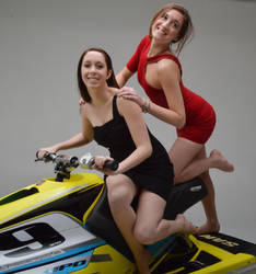 Jet Ski babes by CharacterSet