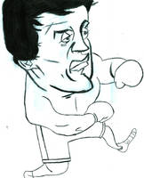 Sylvester Stallone FanArt by shimapa