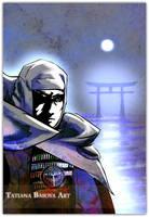 Uesugi Kenshin by Tatiax
