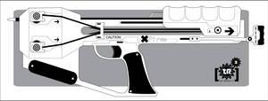 Shadowrun: Arsenal XBow Pistol by Br0uHaHa