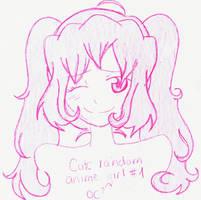 Random Anime Chick LOL by xXimmaeatjooXx