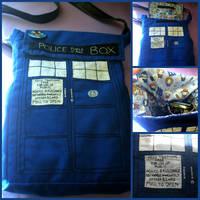 Doctor Who TARDIS Bag by yerbuaaubrey