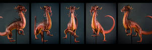 Dragon Sculpt Turnaround by rgyoung