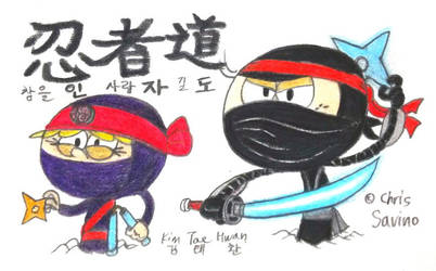 Loud Ninjas! by komi114