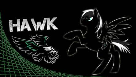 Hawk Laserpony Wallpaper by Die4EverArt