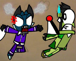 Mixels - PayBack Pillow Fight by InferniteAura21
