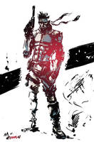MGS1_Solid Snake Ver.02 by mansarali