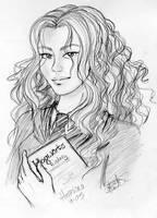 Hermione Granger by mersades