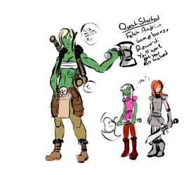 Battle Sisters Adventures! by GamingHunter