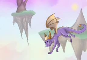 Spyro: Floating Isles by GutsOpossum