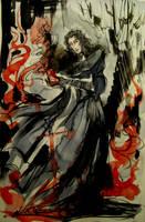 Kylo Ren - Dark Side by Cassiuseos