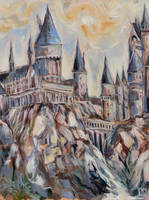 Hogwarts Castle by Cassiuseos